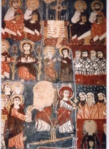 Padri e dottori della Chiesa negli affreschi del monastero siriano di Deir Mar Musa